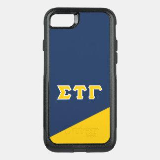 Sigma Tau Gamma | Greek Letters OtterBox Commuter iPhone 8/7 Case
