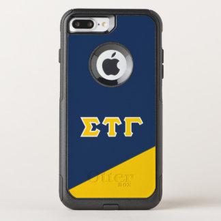 Sigma Tau Gamma   Greek Letters OtterBox Commuter iPhone 8 Plus/7 Plus Case