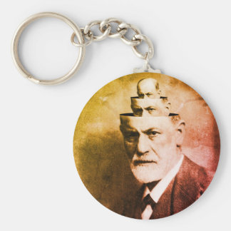 Sigmund Freud Key Ring
