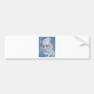 SIGMUND FREUD - oil portrait Bumper Sticker