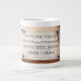 Sigmund Freud Paris Placque Mug