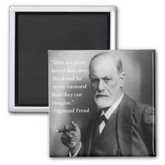 Sigmund Freud Quote Magnet