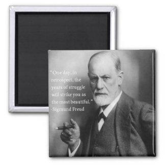 Sigmund Freud Quote Magnet 2