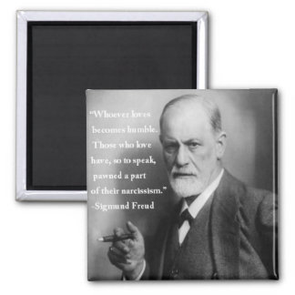 Sigmund Freud Quote Magnet 4