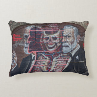 Sigmund Freud Street Art Decorative Cushion