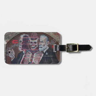 Sigmund Freud Street Art Luggage Tag