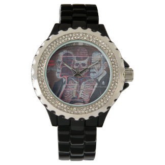 Sigmund Freud Street Art Wrist Watches