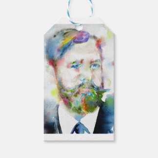 SIGMUND FREUD - watercolor portrait.1 Gift Tags