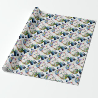 SIGMUND FREUD - watercolor portrait.1 Wrapping Paper