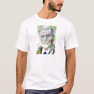 sigmund freud - watercolor portrait.3 T-Shirt