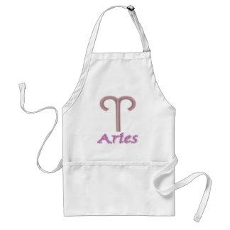 sign.aries. standard apron