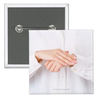 Sign Language 4 15 Cm Square Badge