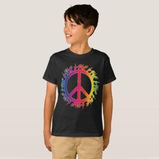 Sign Language Peace Sign Tee