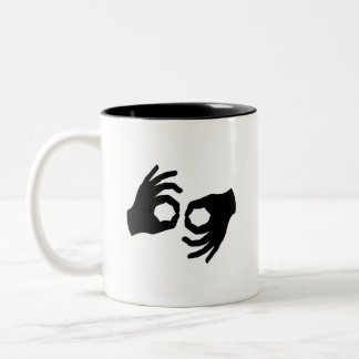 Sign Language Pictogram Mug