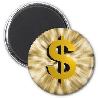Sign of Money Refrigerator Magnets