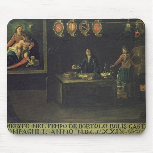 Sign of the Venetian Pharmacists' Guild, 1729 (pan Mousepads