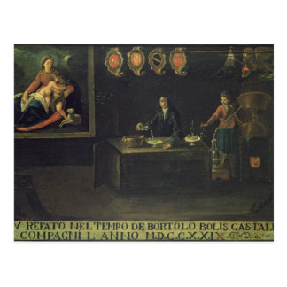 Sign of the Venetian Pharmacists' Guild, 1729 (pan Postcard