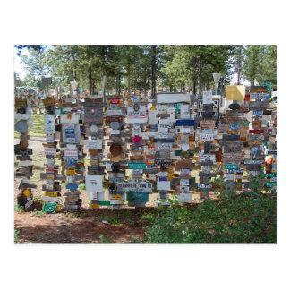 Sign Post Forest, Watson Lake, Yukon Postcard