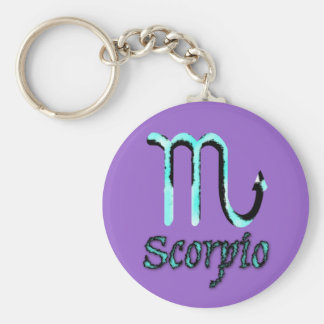 sign.scorpio key ring