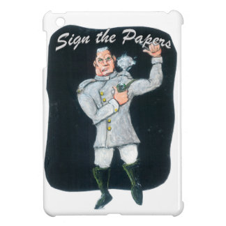 Sign the Papers Cover For The iPad Mini