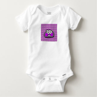 Sign to reduce mulberry - Subtraction Baby Onesie