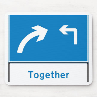 sign together mouse pad