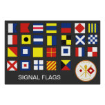 Signal Corps Flags (A-Z) Print