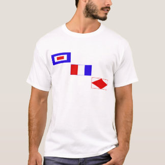 Signal flags wtf T-Shirt