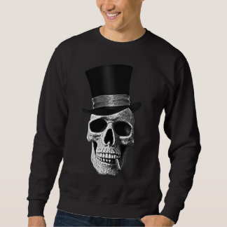 Signal hat skull sweatshirt