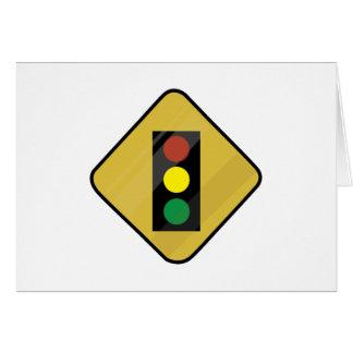 Signal Sign Greeting Card