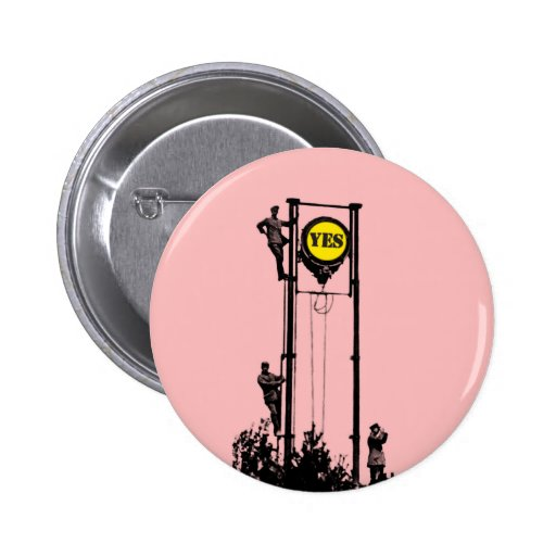 Signal Yes Pink button