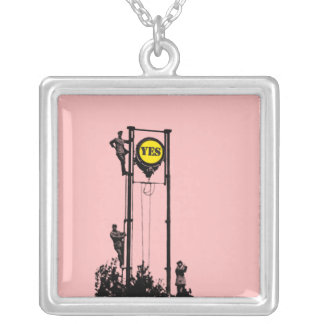 Signal Yes Pink necklace