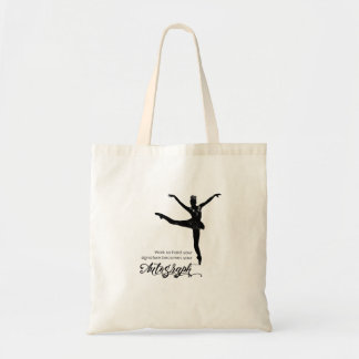 Signature Becomes Your Autograph Tote Bag