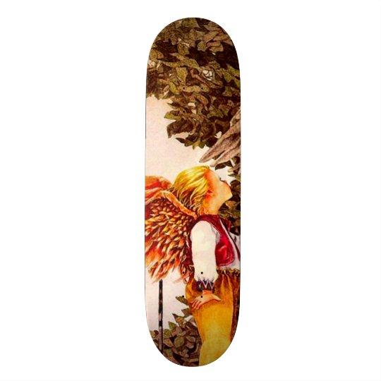 Signature Billy Angel Kid Custom Pro Park Board Custom Skate Board