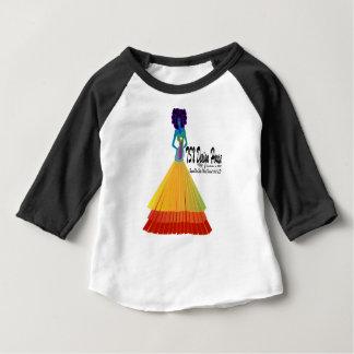 Signature Infant T-shirt w/Black Raglan Sleeve