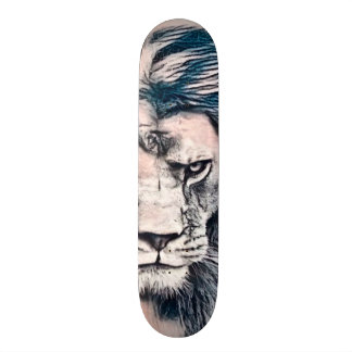 Signature Lion Tattoo Custom Pro Banger Board Skateboard Deck