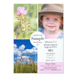 Signature Matte 2015 Paper Sample Card