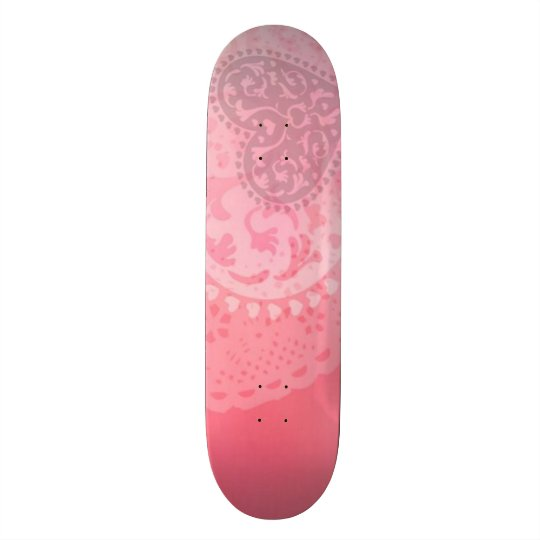 Signature Molly Heart Custom Pro Park Board Skateboard Decks