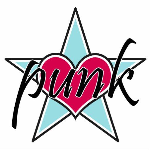 Signature Punk Star magnet cutout Photo Sculptures