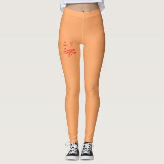 Signatured Apricot Leggings