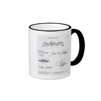 Signatures of 16th and 17th century mugs