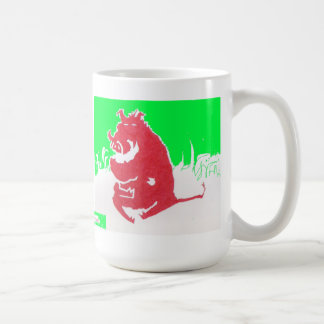 Signed Warthog Coffee Mug