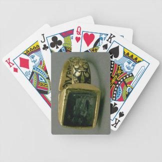 Signet ring of King Louis IX of France (St. Louis) Card Decks