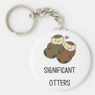SIGNIFICANT OTTERS couple's shirts, accessories Key Ring