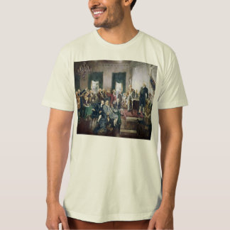 Signing of the Constitution by Howard C. Christy T-Shirt