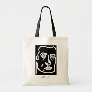 signiture copy, Self Portrait Tote Bag
