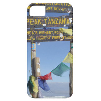 Signpost  on the  Summit of Kilimanjaro kenya Barely There iPhone 5 Case