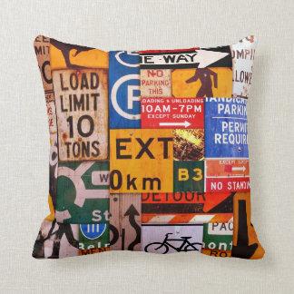 Signs Cushion