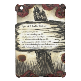 Signs of A Soul In Distress iPad Mini Cover