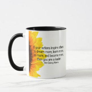 Signs of a true leader mug